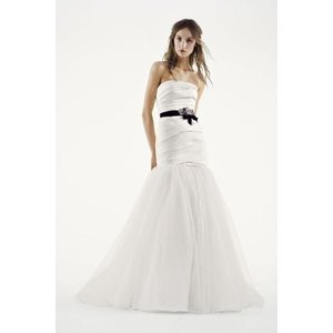 White by Vera Wang Fit and Flare Wedding Dress  Ve...