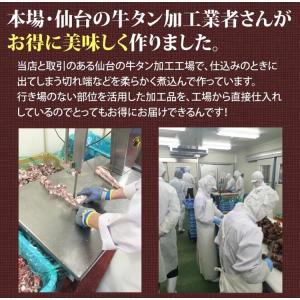 仙台名物 牛タンシチュー 4袋 うまみたっぷり牛タンがゴロっと入った 送料無料 ご飯のお供 stsy 04