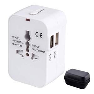海外変換プラグ 2USBポート旅行充電器 【2020最新版】 A/O/BF/Cタイプ電源変換プラグ ...