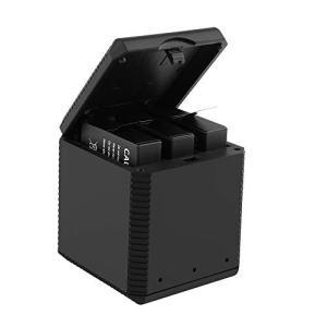 Rcharlance Insta360 one x 収納式充電ケース 3個電池同時充電 / 収納 便...