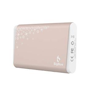 10000mAh BigBlue 充電式 カイロ USB 電気カイロ 大容量 LEDライト バッテリ...