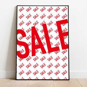 SALE ポスター ポスター A1 A0 B0  販促ポスター かわいい おしゃれ 壁掛け デコレーション 省スペース インテリア雑貨 店舗装飾 studio-canda