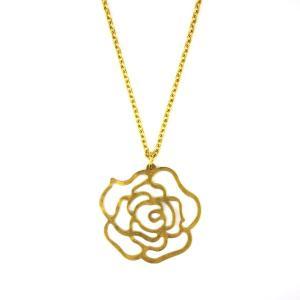 SALE 薔薇柄 真鍮 ネックレス 和柄 メンズ レディース|studio-ichi