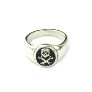 スカル 髑髏 シルバーリング ドクロ指輪 メンズ レディース|studio-ichi