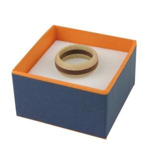 木製 指輪 ウッドリング 桐 マホガニー WOOD メンズ レディース 木 プレゼント ギフト クリスマス|studio-ichi|03