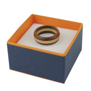木製 指輪 ウッドリング 桐 マホガニー WOOD メンズ レディース 木 プレゼント ギフト クリスマス|studio-ichi|05