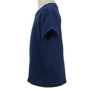 キッズ ベビー 藍染め 半袖 Tシャツ 出産祝い 子供服|studio-ichi|02