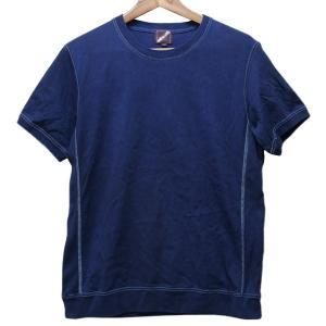 藍染め Tシャツ 半袖 サイドパネル ヘビーウェイト 琉球藍染め メンズ|studio-ichi|04