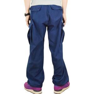藍染め  カーゴパンツ ズボン 琉球藍染め メンズ|studio-ichi|05