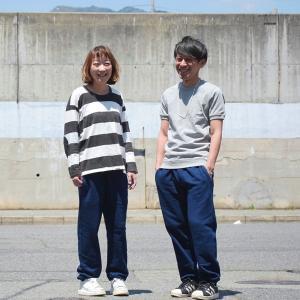 藍染め スウェットパンツ メンズ レディース コットン ギフト 敬老の日|studio-ichi|02