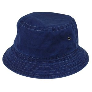 琉球 藍染め バケットハット インディゴ hat 帽子 2サイズ ギフト|studio-ichi|03