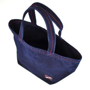琉球藍染め ランチバッグ 和柄 トートバッグ|studio-ichi|03
