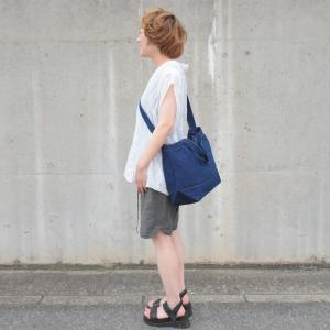 琉球藍染め 2WAYバッグ トートバッグ ショルダーバッグ キャンバス|studio-ichi|03