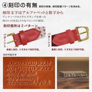 オリジナル オーダーベルト 生地 名入り メンズ キッズ レディース 革 真鍮 コットン オーダーメイド|studio-ichi|05