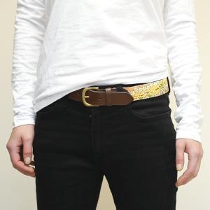 オリジナル オーダーベルト 生地 名入り メンズ キッズ レディース 革 真鍮 コットン オーダーメイド|studio-ichi|07