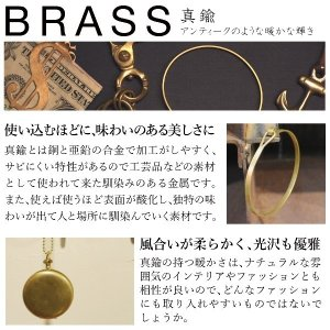 真鍮 生地 ねじり バングル ブレスレット ゴールド プレゼント ギフト|studio-ichi|04