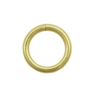 真鍮 丸カン 内径15mm キーホルダーパーツ|studio-ichi|02