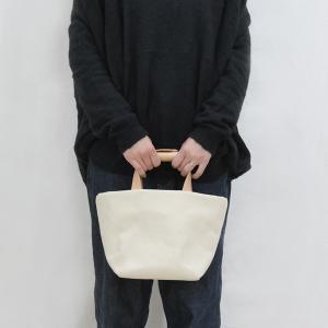 1号帆布 トートバッグ Sサイズ 横長 canvas キャンバス 極厚 ヌメ革 シンプル 綿 コットン 名入れ 刻印|studio-ichi|04