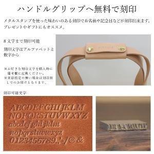 1号帆布 トートバッグ Sサイズ 横長 canvas キャンバス 極厚 ヌメ革 シンプル 綿 コットン 名入れ 刻印|studio-ichi|09