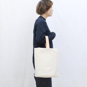 1号帆布 バケット 2WAY 鞄 ショルダーバッグ トートバッグ 円柱 canvas キャンバス 極厚 ヌメ革 シンプル 綿 コットン 名入れ 刻印|studio-ichi|06