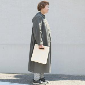 1号帆布 ペーパーバッグ Sサイズ トートバッグ canvas キャンバス 極厚 ヌメ革 シンプル 綿 コットン 名入れ 刻印 studio-ichi 04