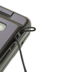 携帯ストラップ ナイロン コード 紐 ナイロン芯入り 0.8mm 松葉紐 黒 ストラップ 丸紐 1m巻|studio-ichi|02