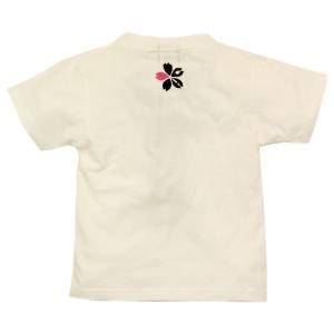 SALE Tシャツ 半袖 和柄 ネクタイ 桜 手描き 出産祝い 子供服|studio-ichi|02