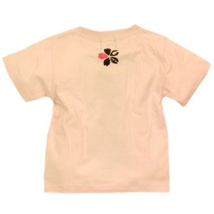 SALE Tシャツ 半袖 和柄 ネクタイ 桜 手描き 出産祝い 子供服|studio-ichi|06