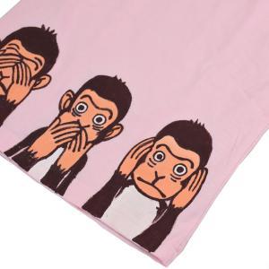 SALE Tシャツ 半袖 和柄  お猿 手描き 出産祝い 子供服|studio-ichi|04