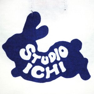 SALE ラグランTシャツ レディース 半袖 手描き 干支兎柄|studio-ichi|06