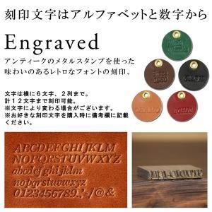 名入れ メッセージ 刻印付き 真鍮キーホルダー ベルトフック カラビナ ナスカン|studio-ichi|04