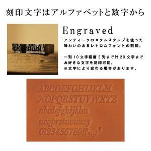 メッセージ刻印付き達磨柄ヌメ革小銭入れ!中に隠れたダルマが面白い! studio-ichi 04