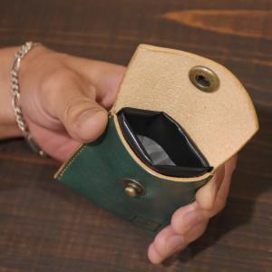 フック付き ヌメ革 携帯灰皿 メッセージ刻印 レザー 灰皿 名入れ 刻印付き|studio-ichi|06
