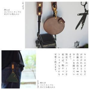 名入れ 刻印付き ヌメ革 丸 三角 四角 コインケース 小銭入 小物入 真鍮 メッセージ studio-ichi 05