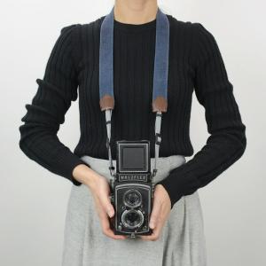 名入れ 刻印付 ヴィンテージ  カメラストラップ ヌメ革 コットン 綿 ベルト 3サイズ セミオーダー オーダーメイド プレゼント ギフト|studio-ichi|06