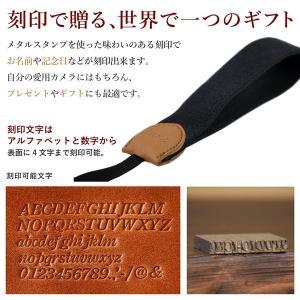 名入れ 刻印付 ヴィンテージ  ハンドカメラストラップ ヌメ革 コットン 綿 3サイズ セミオーダー オーダーメイド studio-ichi 05