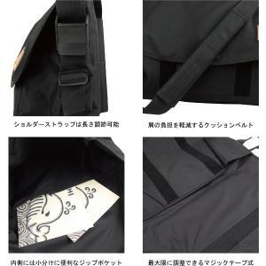 壱桜ビッグメッセンジャーバッグ|studio-ichi|02