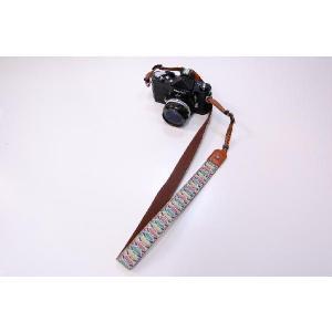 カメラストラップ 一眼レフ 和柄 デジカメストラップ 着物63扇子|studio-ichi
