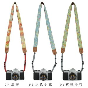 着物 カメラストラップ 1 和柄 一眼レフ 和風 レトロ 花柄 ギフト|studio-ichi|03