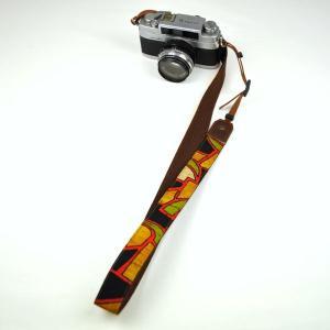 カメラストラップ 一眼レフ 和柄 デジカメストラップ 着物n24石垣|studio-ichi