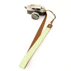 カメラストラップ 一眼レフ 和柄 デジカメストラップ 着物n9槍小紋|studio-ichi