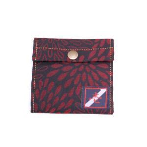 着物カードケース 黒菊 和柄カードケース|studio-ichi
