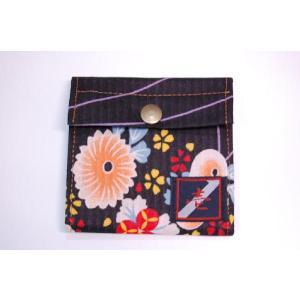 着物カードケース 黒浴衣 和柄カードケース|studio-ichi