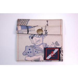着物カードケース 漫画 和柄カードケース|studio-ichi