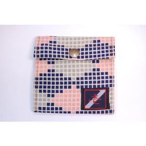 着物カードケース ブロック 和柄カードケース|studio-ichi