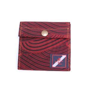 着物カードケース 波模様 和柄カードケース|studio-ichi