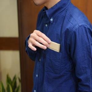 桐 マホガニー 名刺ケース 木製 ウッド カードケース フロントオープン|studio-ichi|06