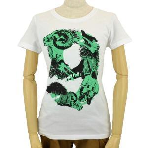 レディース Tシャツ 半袖 9NINE 山羊 ZIOZIO|studio-ichi