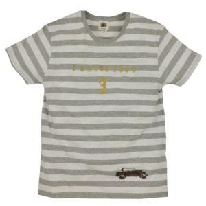メンズ ボーダー Tシャツ 半袖 数字車 ZIOZIO|studio-ichi