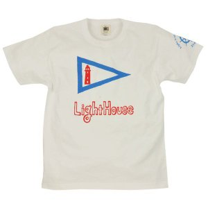 メンズ Tシャツ 半袖 ライトハウス ZIOZIO|studio-ichi